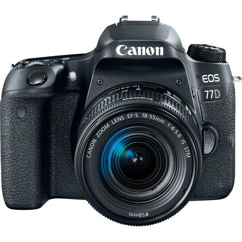 Canon EOS 77D Digital SLR Camera with 18-55 IS STM Lens