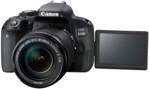 Canon EOS 800D Digital SLR Camera with 18-135 IS STM Lens